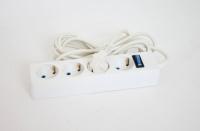 Сетевой фильтр РАДИСТ РВС16-004 (с кнопкой и подсветкой) 4 гнезда
